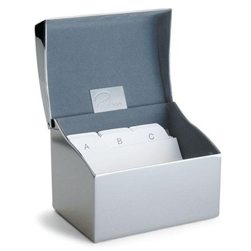 Εικόνα της 164037 Philippi CLIP Business Card Box with Index