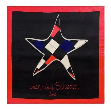 Εικόνα της Jean-Louis Scherrer SFL409 Star Μεταξωτό Μαντήλι