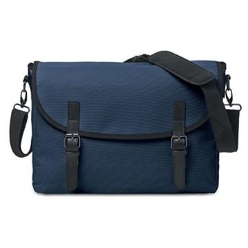 Εικόνα της Mid Ocean Brands MO8609-04 PADUA MESS Τσάντα ταχυδρόμου μπλέ
