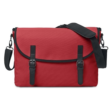 Εικόνα της Mid Ocean Brands MO8609-05 PADUA MESS Τσάντα ταχυδρόμου κόκκινη