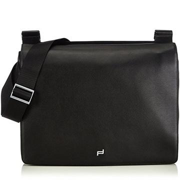Εικόνα της Porsche Design 4090001595 Shyrt Leather Briefcase Black