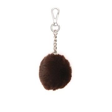 Εικόνα της Gabs Ponpon Γούνινο Μπρελόκ (fur bag charm) καφέ