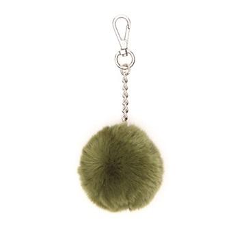 Εικόνα της Gabs Ponpon Γούνινο Μπρελόκ (fur bag charm) πράσινο