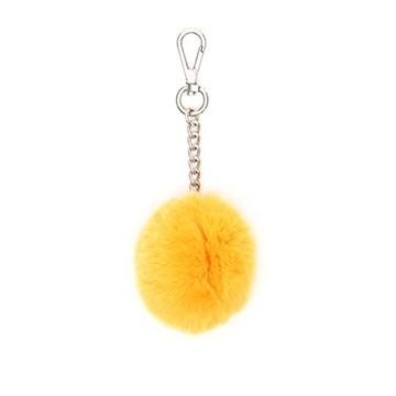 Εικόνα της Gabs Ponpon Γούνινο Μπρελόκ (fur bag charm) κίτρινο