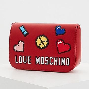 Εικόνα της Love Moschino 4069PP15LH0500 Τσαντάκι Ώμου (Crossbody Bag) Κόκκινο