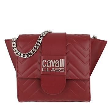 Εικόνα της Cavalli Class 002 Alisa Τσάντα Ώμου Κόκκινη