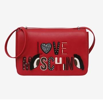Εικόνα της Love Moschino 4290PP06KM0500 Τσάντα Ώμου Κόκκινη