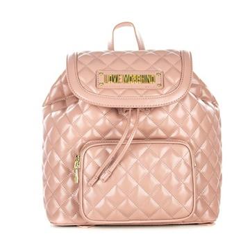 Εικόνα της Love Moschino 4008PP17LA0600 Καπιτονέ σακίδιο πλάτης (Backpack) Ροζ
