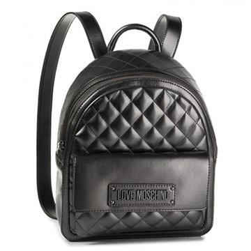 Εικόνα της Love Moschino 4007PP18LA0906 Καπιτονέ σακίδιο πλάτης (Backpack) Ασημί