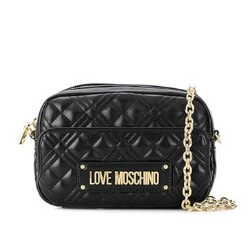 Εικόνα της Love Moschino 4002PP1ALA0000 Καπιτονέ Τσαντάκι Ώμου (Quilted Crossbody Bag) Μαύρο