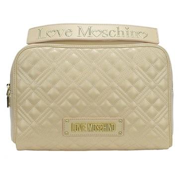 Εικόνα της Love Moschino 4008PP1ALA0107 Καπιτονέ Τσάντα Χειρός Ivory