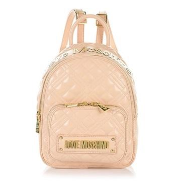 Εικόνα της Love Moschino 4009PP1ALA0107 Καπιτονέ σακίδιο πλάτης (Backpack) Nude