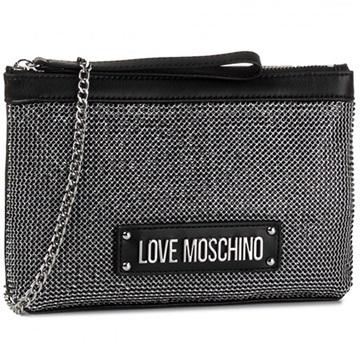 Εικόνα της Love Moschino 4050PP1ALH100A Τσαντάκι (Clutch) Μαύρο