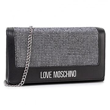 Εικόνα της Love Moschino 4055PP1ALH100A Τσάντα Χειρός Μαύρη