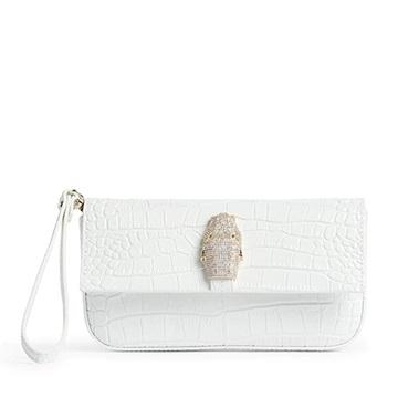 Εικόνα της Cavalli Class 001 Olivia Τσάντα Ώμου (Shoulder bag) Λευκή