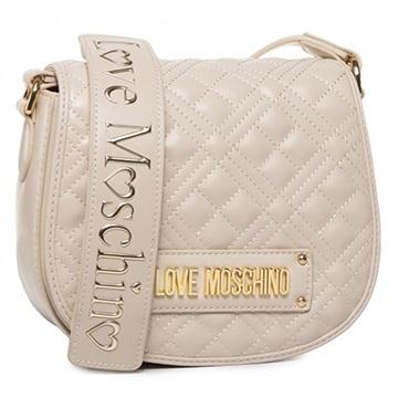 Εικόνα της Love Moschino 4006PP1ALA0110 Τσαντάκι Ώμου Καπιτονέ (Quilted Crossbody Bag) Φίλντισι