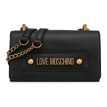 Εικόνα της Love Moschino 4022PP1ALD0100 Τσαντάκι Ώμου Μαύρο