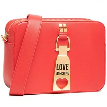 Εικόνα της Love Moschino JC4086PP1CLN0500 Τσαντάκι Ώμου (Crossbody Bag) Κόκκινο