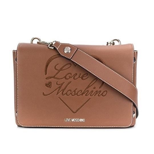 Εικόνα της Love Moschino JC4021PP1BLC0200 Τσάντα Ώμου Camel