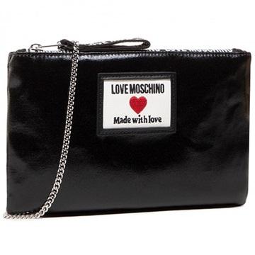 Εικόνα της Love Moschino JC4037PP1CLC100A Τσάντα Χειρός Μαύρη