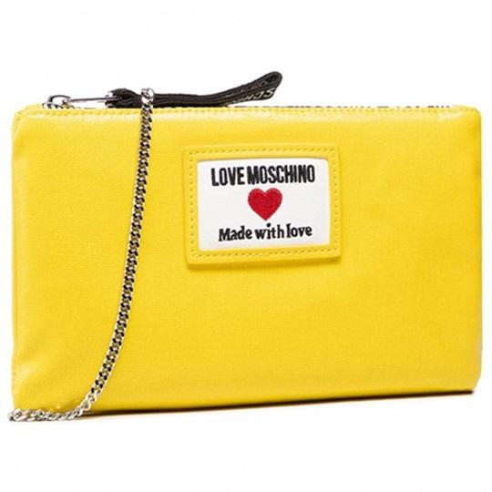 Εικόνα της Love Moschino JC4037PP1CLC140A Τσάντα Χειρός Κίτρινη