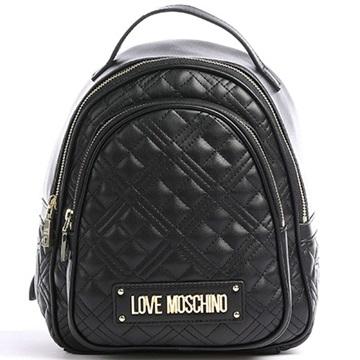 Εικόνα της Love Moschino JC4209PP0CKA0000 Καπιτονέ σακίδιο πλάτης (Backpack) Μαύρο