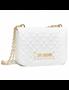 Εικόνα της Love Moschino JC4001PP1CLA0100 Τσάντα Ώμου Καπιτονέ Λευκή