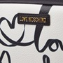 Εικόνα της Love Moschino JC4134PP1CLP100A Δερμάτινο Τσαντάκι Ώμου Λευκό